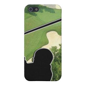 Campo de golf iPhone 5 carcasa