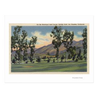 Campo de golf municipal en Parque Griffith Postal