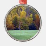 Campo de golf ornamentos de reyes magos