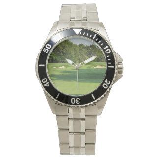Campo de golf relojes de pulsera
