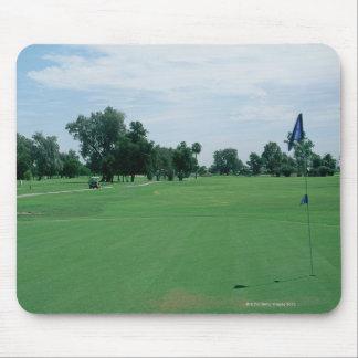 Campo de golf mouse pads