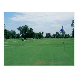 Campo de golf tarjetas postales