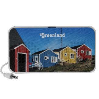 Campo de Groenlandia Mp3 Altavoces