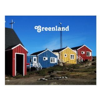 Campo de Groenlandia Postales