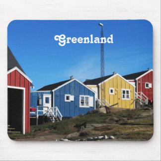 Campo de Groenlandia Alfombrilla De Raton