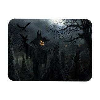 Campo de Halloween de la muerte Iman Flexible