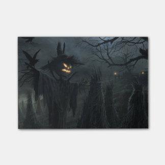 Campo de Halloween de la muerte Post-it Nota