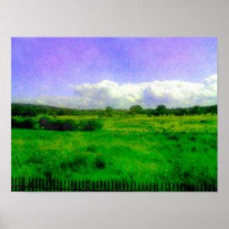 Campo de Hoylake, Hoylake - Wirral - julio de 2014 Póster