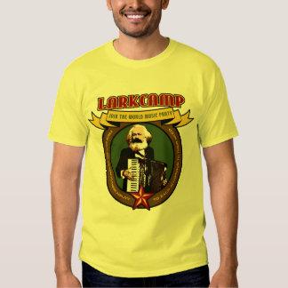 Campo de la alondra - camisa del acordeón del