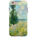 Campo de la amapola de Claude Monet Funda De iPhone 6 Plus Tough