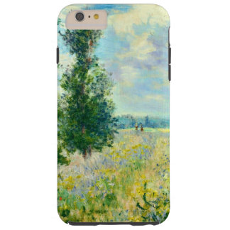 Campo de la amapola de Claude Monet Funda De iPhone 6 Plus Tough