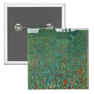 Campo de la amapola de Gustavo Klimt Pins