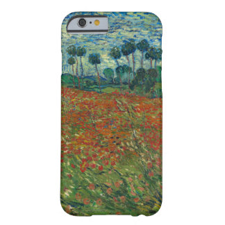 Campo de la amapola de Vincent van Gogh Funda De iPhone 6 Barely There