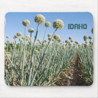 Campo de la cebolla de Idaho Mousepads