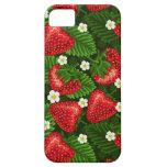 campo de la fresa iPhone 5 protector