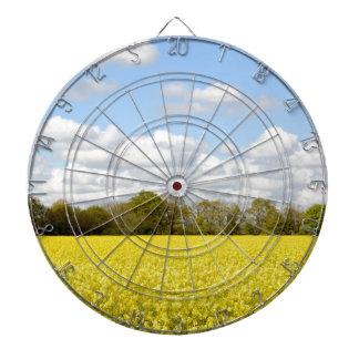 Campo de la rabina amarilla tabla dardos