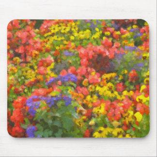 Campo de las flores Mousepad Tapete De Raton