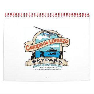Campo De Lorenzo Skypark Calendar
