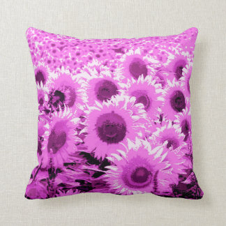 Campo de los girasoles - violeta, orquídea y cojin
