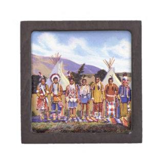 Campo de los indios de Arizona Apache Caja De Regalo De Calidad