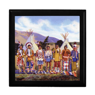 Campo de los indios de Arizona Apache Cajas De Joyas