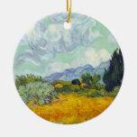Campo de maíz con Cyprusses de Vincent van Gogh Ornatos