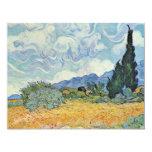 Campo de maíz con los cipreses de Vincent van Gogh Anuncio