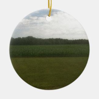 Campo de maíz adorno de navidad