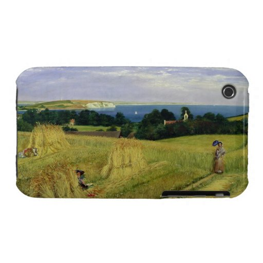 Campo de maíz en la isla del Wight iPhone 3 Cárcasa