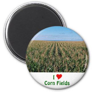 Campo de maíz imán redondo 5 cm