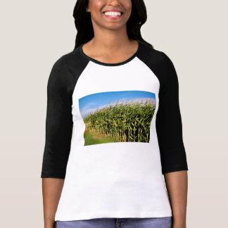 campo de maíz y cielo polera