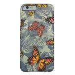 Campo de mariposas funda de iPhone 6 barely there