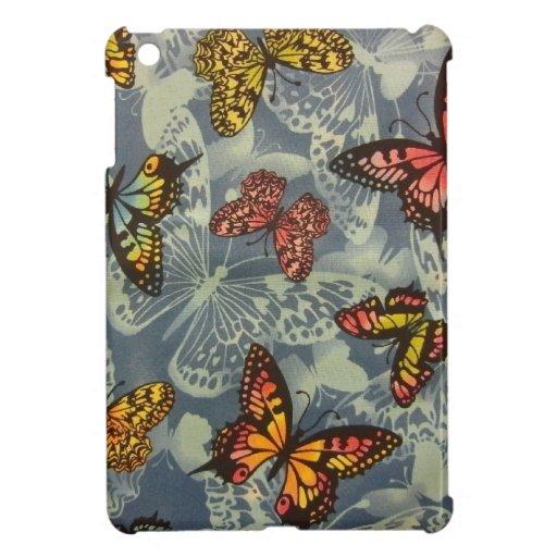 Campo de mariposas iPad mini funda
