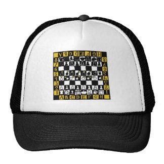 Campo de mina del ajedrez gorros