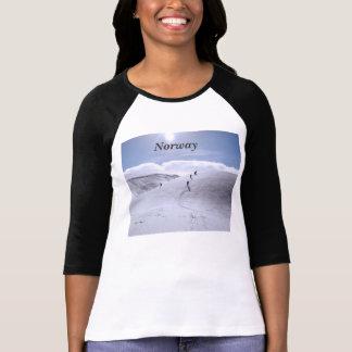 Campo de Noruega Camisetas
