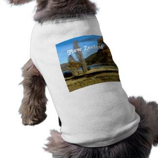 Campo de Nueva Zelanda Camisetas Mascota