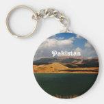 Campo de Paquistán Llaveros Personalizados