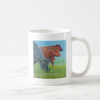 Campo de sueños taza de café