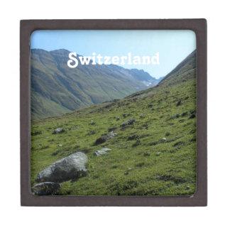 Campo de Suiza Caja De Regalo De Calidad