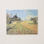 Campo de trigo (aceite en lona) puzzle