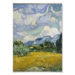 Campo de trigo con los cipreses de Vincent van Gog Fotografias
