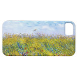 Campo de trigo con una alondra de Vincent van Gogh iPhone 5 Case-Mate Fundas