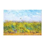 Campo de trigo con una alondra de Vincent van Gogh Lienzo Envuelto Para Galerias