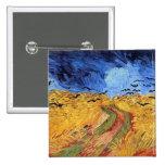 Campo de trigo de Vincent van Gogh con los cuervos