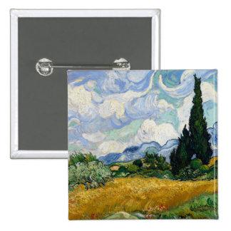 Campo de trigo de Vincent van Gogh con los