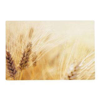 Campo de trigo tapete individual