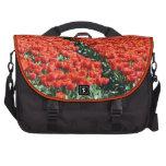 Campo de tulipanes bolsa para ordenador
