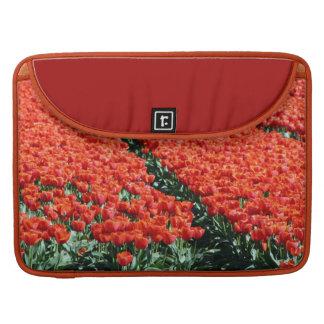 Campo de tulipanes fundas macbook pro