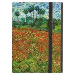 Campo de Van Gogh con bella arte de las amapolas (