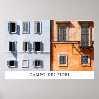 Campo Dei Fiori Poster